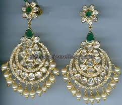 heavy diamond earrings 1233 best traditional gold jhumkas collection images on