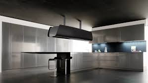 contemporary kitchen composite invisible toncelli