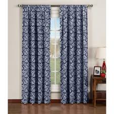 Extra Wide Curtain Rods Window Elements Semi Opaque Valencia Printed Cotton Extra Wide 84