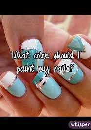 what color should i paint my nails paint colours