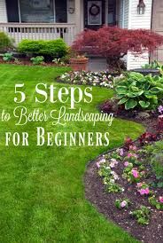 How To Give Your House Curb Appeal - 5 landscaping tips for beginners yards landscaping and learning