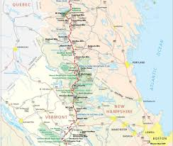 Stratton Mountain Map Dreaming Of A Thru Hike Follow At And Pct Thru Hikers Live