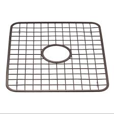 InterDesign  Kitchen Sink Grid Protector Rack With Middle - Kitchen sink grid