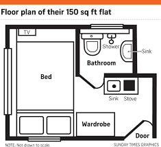 house tour tiny 150sqf nano flat in hong kong home u0026 decor