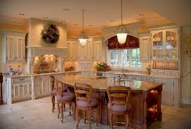 kitchen interesting kitchen island with wooden classic seating