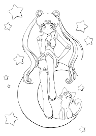 lineart sailor moon chibis by rurutia8 on deviantart