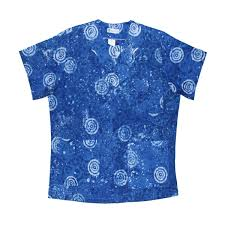batik scrub tops brought to you by born products