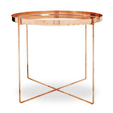 Target Gold Side Table by Furniture Accessories Round Gold Copper Table Round Small Modern