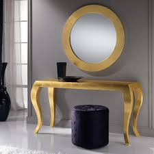 Gold Console Table Gold Console Table Beautiful Photos Concept High End Italian Leaf