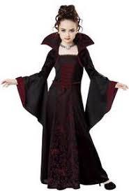 Bell Halloween Costume Royal Vampire Child Halloween Costume Classic Dress Choker