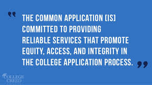 master college admissions the common application preview