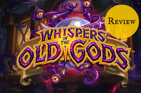amazon black friday hearthstone hearthstone whispers of the old gods review the bookish gamer