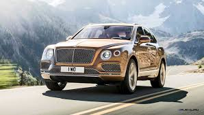bentley bentayga exterior 2016 bentley bentayga first edition