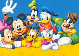 cartoon characters wallpapers for desktop wallpapersafari