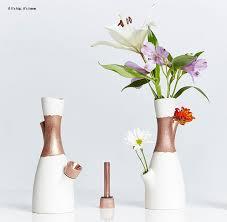 Copper Flower Vase The Voong Combination Vase And Bong By Castor Design