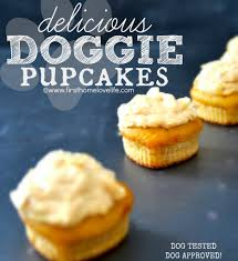 homemade doggie cupcakes pup cakes doggies pup and greek yogurt