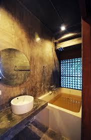 bathroom unique dark polished wall bathroom with rectangle tub