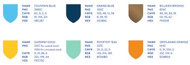 51 best color names pantone colors fonts and photography slu