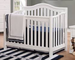 White 4 In 1 Convertible Crib by Shermag Liberty 4 In 1 Convertible Crib White Babies