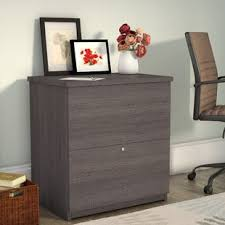 gray wood file cabinet gray filing cabinets you ll love wayfair