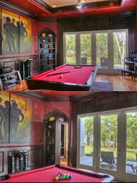 luxury bunkers and secret passages of the wealthy game rooms