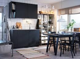 Kitchen Ideas With Black Cabinets Ikea Small Kitchen Design Best Kitchen Designs