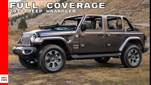 2018 jeep wrangler sahara rubicon test drive interior full