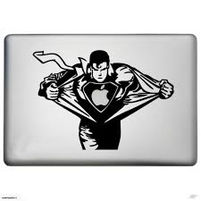 superman vinyl decal sticker for macbook pro 13 click to enlarge photo