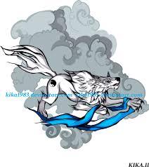 white wolf tattoo by kika1983 on deviantart