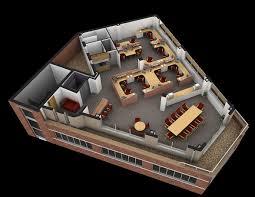 amazing 3d floor plan designer 5 3d visual office cutaway plan