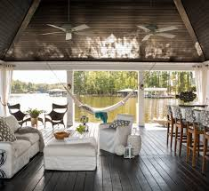 cacoon hammock method raleigh beach style deck decoration ideas
