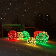 christmas sphere outdoor lights home decorating interior design