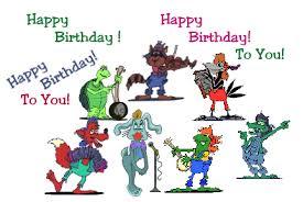 happy friday animations happy birthday emoticon emoticons