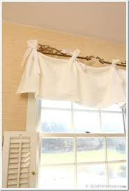 Valances For Living Room Windows by Burlap London Shade With Brown Straps And Buttons By Pillowpuff