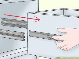 How To Remove Bathroom Vanity by 5 Ways To Remove Drawers Wikihow