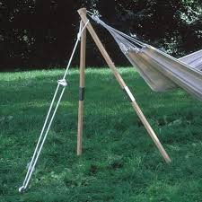 Hammock With Wooden Stand Shop Hammock Stands At Lowes Com