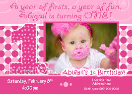 Birthday Invitation Cards For Kids First Birthday 1st Birthday Invite 1st Birthday Invitation