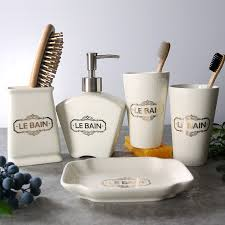 Le Bain Bathroom Accessories by Compare Prices On Ceramic Bathroom Accessories Set Online