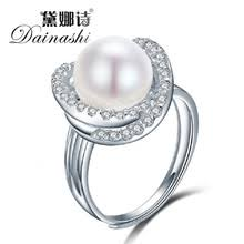 Pearl Wedding Rings by Online Get Cheap Pearl Wedding Rings Aliexpress Com Alibaba Group