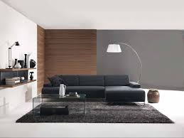 Black Leather Sofa With Cushions Living Room Modern Blac Leather Sofas With Cushion Living Room