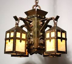 Arts Crafts Lighting Fixtures Arts And Crafts Chandeliers Antique Impressive Magnificent Antique