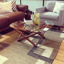 just bought the west elm spindle coffee table so excited