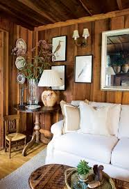 How To Decorate Wood Paneling | how to make a dark paneled room look fresh light wood paneling