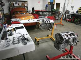 nissan 350z vq35de engine build modified magazine