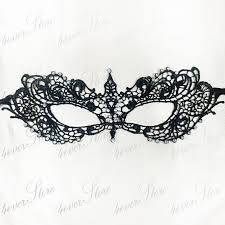 black lace masquerade masks black lace masquerade mask minimalist by 4everstore