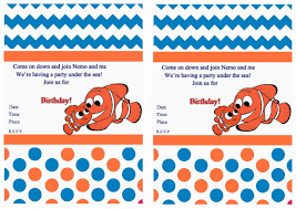 under the sea birthday party invitations free printable