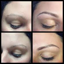semi permanent makeup cosmetic tattoo hair stroke eyebrow