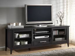 Tv Armoire With Doors And Drawers Furnitures Using Wondrous Sauder Tv Stand For Modern Home