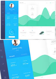 30 free futuristic dashboard ui ux psd templates freebies