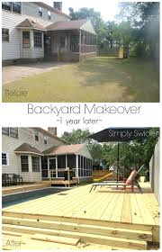 backyards amazing image of photo diy backyard makeover 26 shows